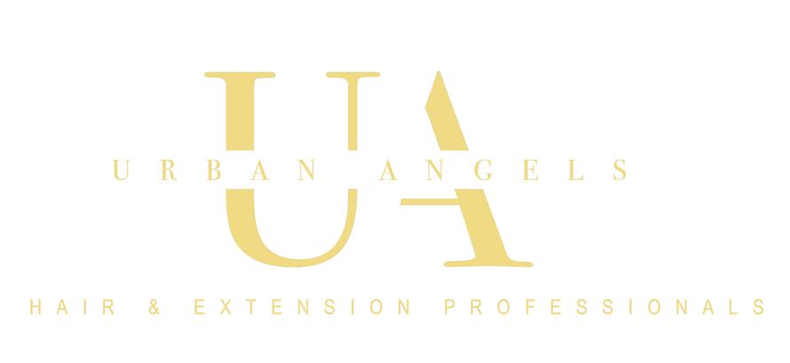 urban angels hair & hair extensions professionals logo
